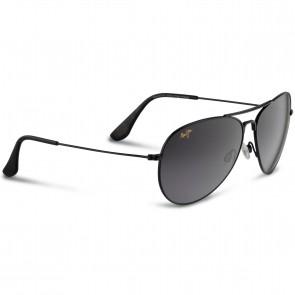 Maui Jim Mavericks Sunglasses - Gloss Black/Neutral Grey