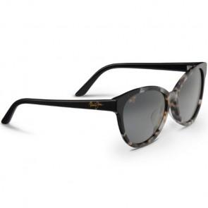 Maui Jim Women's Sunshine Sunglasses - White Tokyo Black/Neutral Grey