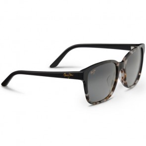 Maui Jim Women's Moonbow Sunglasses - White Tokyo Black/Neutral Grey