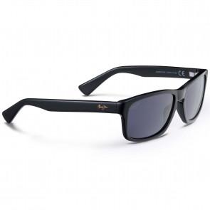 Maui Jim McGregor Point Sunglasses - Gloss Black/Neutral Grey