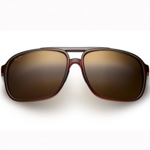 Maui Jim Silversword Sunglasses - Brown/Iridescent Aqua/HCL Bronze