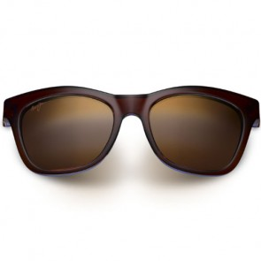 Maui Jim Women's Sweet Leilani Sunglasses - Rootbeer Blue/HCL Bronze