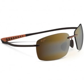 Maui Jim Kumu Sunglasses - Metallic Gloss Copper/HCL Bronze