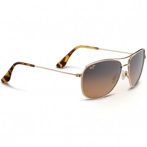 Maui Jim Cliffhouse Sunglasses - Gold/HCL Bronze