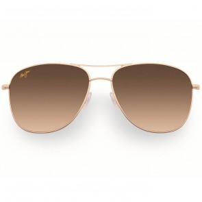 Maui Jim Cliff House Sunglasses - Gold/HCL Bronze