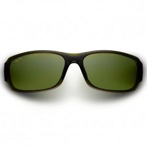 Maui Jim Bamboo Forest Sunglasses - Olive Fade/Maui HT