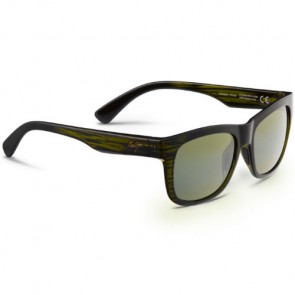 Maui Jim Snapback Sunglasses - Green Stripe/Maui HT