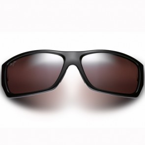 Maui Jim Wassup Sunglasses - Gloss Black/Maui Rose