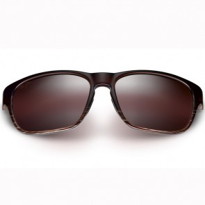 Maui Jim Women's Mixed Plate Sunglasses - Chocolate Stripe Fade/Maui Rose