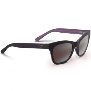 Maui Jim Women's Sweet Leilani Sunglasses - Mauve Matte Rubber/Maui Rose
