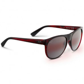 Maui Jim Rising Sun Sunglasses - Burgundy Stripe/Maui Rose