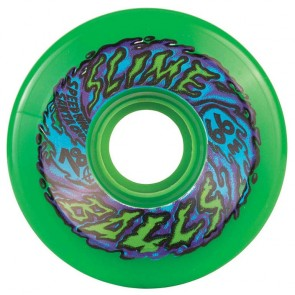 Santa Cruz Skateboards - 66mm Slime Balls 66's Wheels - Neon Green