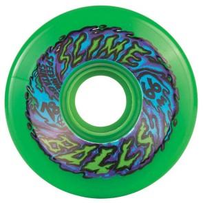 Santa Cruz Skateboards - 66mm Slime Balls 66's Wheels - Neon Green