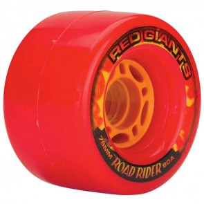 Road Rider - 76mm Red Giants Wheels - Red