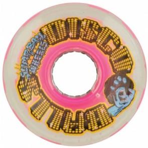 Santa Cruz 60mm Slime Balls Disco Balls Wheels - Pink