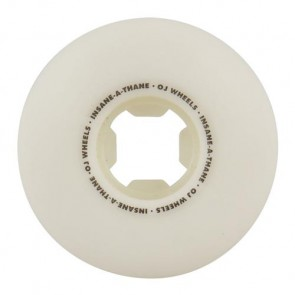 OJ Wheels 55mm Jessee Cock Fight EZ Edge Wheels - White