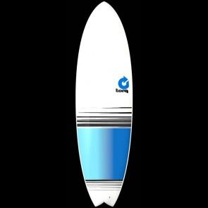 Torq Surfboards 6'3'' Torq Mod Fish - White/Blue Fade