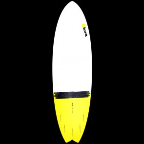 Torq Surfboards 6'6'' Torq Mod Fish - Yellow Dip