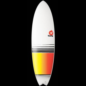 Torq Surfboards 6'6'' Torq Mod Fish - Yellow/Red Fade