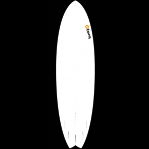 Torq Surfboards 7'2'' Torq Mod Fish - Yellow/Orange Fade