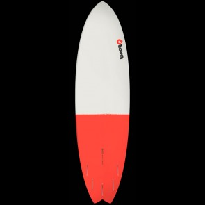 Torq Surfboards 6'10'' Torq Mod Fish - Grey/Red