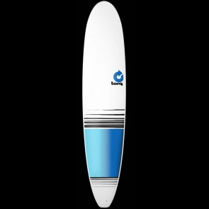 Torq Surfboards 9'0'' Torq Longboard - White/Blue Fade