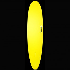 Torq Surfboards 8'0'' Torq Mini Longboard - Yellow/Blue