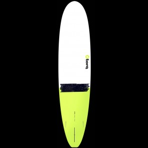 Torq Surfboards 8'6'' Torq Longboard - White/Green Tail