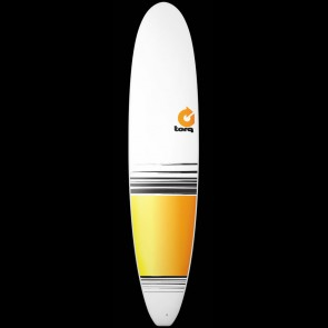 Torq Surfboards 8'6'' Torq Longboard - Yellow/Orange Fade