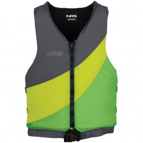 NRS Youth Crew Type III PFD Vest - Green