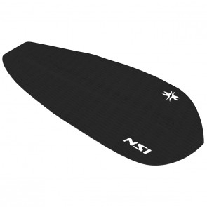 North Shore Inc - Full Monty Surf Pad with Inserts - Black