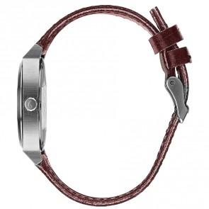 Nixon Time Teller Watch - Grey/Rose Gold/Brown