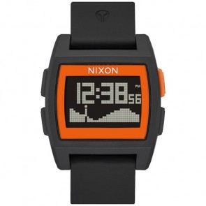 Nixon Base Tide Watch - Black/Orange JJF