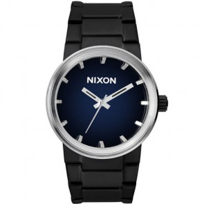 Nixon Cannon Watch - All Black/Blue