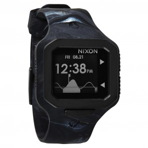 Nixon Watches - The Supertide - Marbled Black Smoke