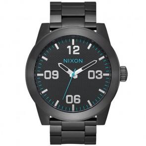 Nixon Corporal SS Watch - All Black/Blue