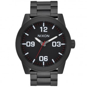 Nixon Corporal SS Watch - All Black/White