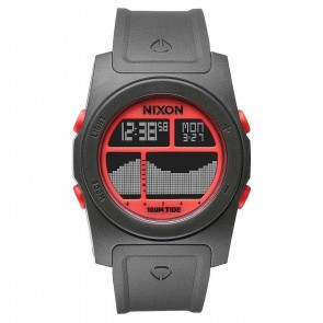 Nixon Watches - The Rhythm - Grey/Neon Orange