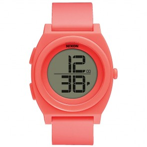 Nixon Watches The Time Teller Digi - Bright Coral