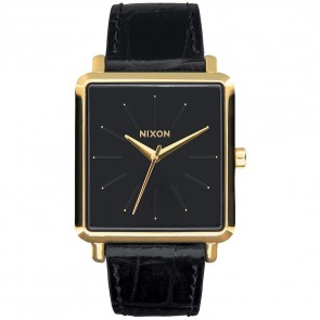Nixon Watches The K Squared - Gold/Black Gator