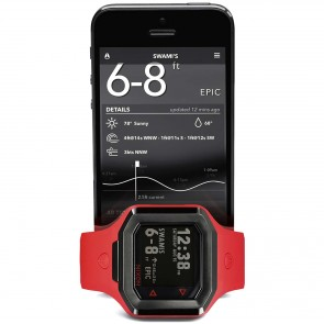 Nixon Ultratide Watch - Red/Gunmetal
