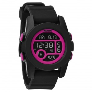 Nixon Watches - The Unit 40 - Black/Magenta