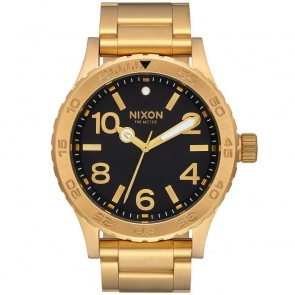 Nixon 46 Watch - All Gold/Black