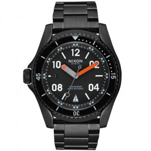 Nixon Descender Watch - Black/Orange JJF