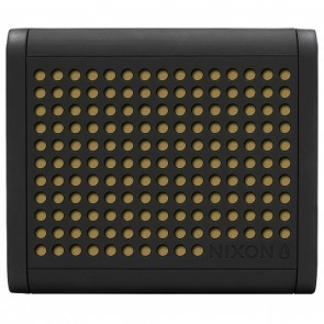 Nixon Mini Blaster Portable Wireless Speaker - Black/Gold