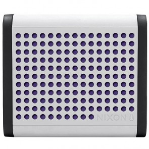 Nixon Mini Blaster Portable Wireless Speaker - White/Black/Purple