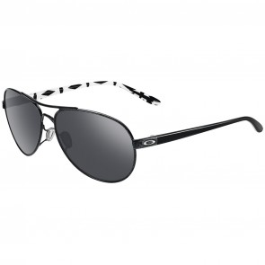 Oakley Women's Feedback Sunglasses - Metallic Black/Black Iridium