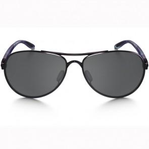 Oakley Women's Tie Breaker Sunglasses - Blackberry/Black Iridium