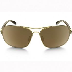 Oakley Women's Sanctuary Polarized Sunglasses - Gold Satin/Tungsten Iridium