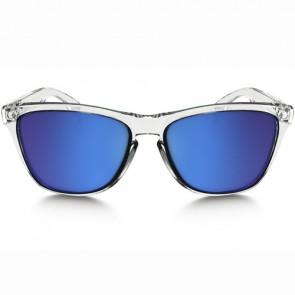 Oakley Frogskins Crystal Sunglasses - Polished Clear/Sapphire Iridium